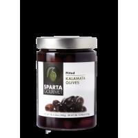 Kalamata Olives Pitted 310gr Glass Jar