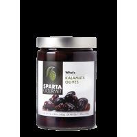 Kalamata Olives Whole 340gr Glass Jar